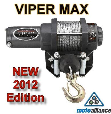 3000lb ATV Winch Mount Kit For Polaris Gen Ivatp Viper Max