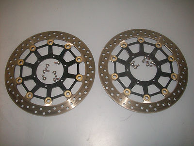 2009-10-11 Honda CBR 600RR Front Brake Rotors 3k Miles