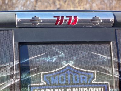 Ford F250 350 Harley Logo 3rd Brake Light Cover