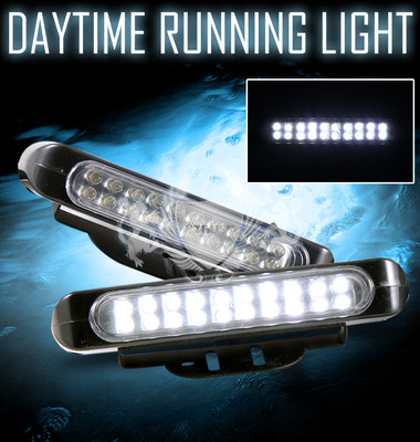 Daytime Running Bumper Fog Lights LED Lamps