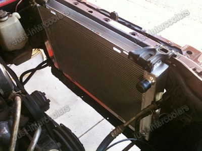 Aluminum Radiator Ford Mustang 3 Row Core