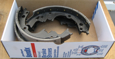 Bendix Allied Signal R514 Rear Relined Brake Shoes