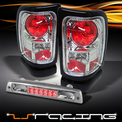 9401 Chrome Altezza Tail Lights Led 3rd Brake Light Combo
