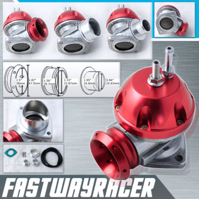 Universal Version 2 Adjustable Red Type RS S Turbo Blow Off Valve Bov Pipe