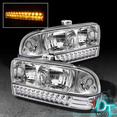 9804 S10 BLAZER CRYSTAL HEAD LIGHTSLED BUMPER LAMPS