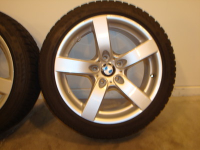 BMW E90 Wheels & Blizzak LM25 RFT Winter Tires