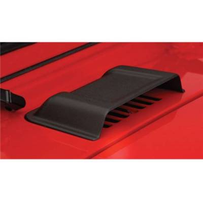 Bushwacker Cowl Hood Vent Air Scoop Smooth Black 15001