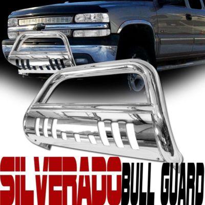 0006 CHEVY TAHOE/SUBURBAN CHROME PUSH GUARD BULL BAR