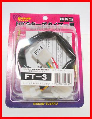 HKS Turbo Timer Harness FT3 SUBARU Impreza WRX 0206