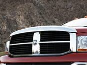 Dodge Ram Chrome Bug Shield / Air Deflector 20062009