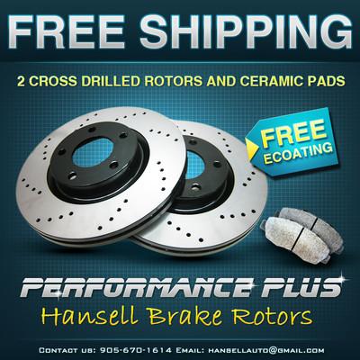 Drill Brake Rotors Ceramic Pads
