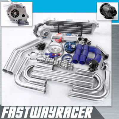 Universal T3/T4 T04E Hybrid Turbo Kit Turbo Starter Kit Stage 1 Turbo Timer FPR