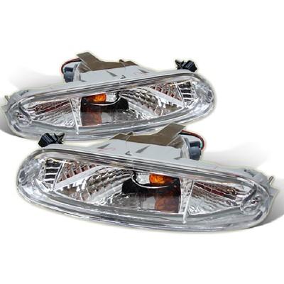 Mazda Miata 9097 MX5 Bumper Lights Clear SPYDER