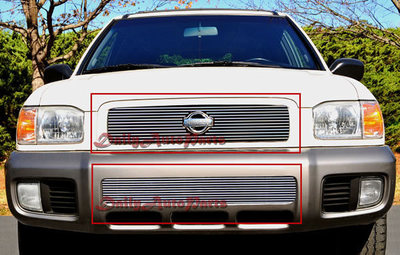 Nissan Pathfinder LE XE Front Grill Aluminum Billet Grille Insert Bolton