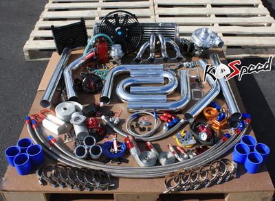 Honda Turbocharger Turbo Kit FMIC DIY Piping