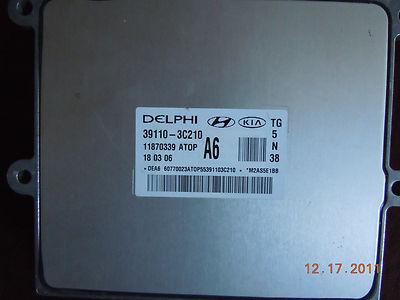 Hyundai Azera Engine Computer ECM ECU