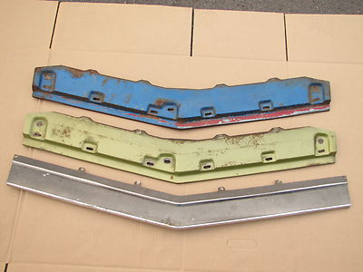 1970 Mustang Mach1 Boss Fastback grille bumper stone deflector panel