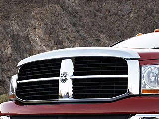 Dodge Ram Bug Shield Air Deflector Chrome Mopar