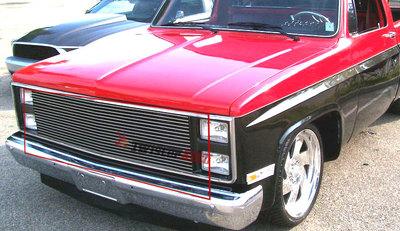 1981 1982 1983 1984 Chevy Blazer Upper Aluminum Billet Grille Grilll Insert