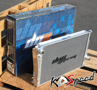 9806 Bmw E46 3series Manual Transmission Dna Dual Core 2 Row Aluminum Radiator