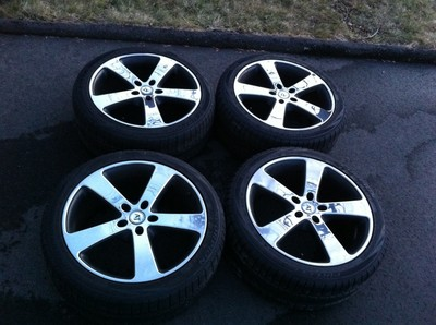 4 At Italia Inox 20″ Wheels With Pirelli Scorpion Winter Tires