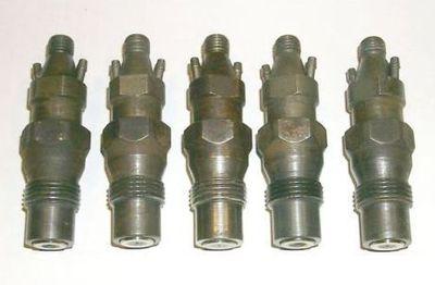 Mercedes Turbo Diesel 5 Fuel Injectors 126 300sd 123 300d 300td 300cd 280cd W123