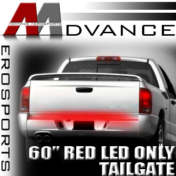 60″ Brake/Turn Signal Red Led Tailgate Tail Light Bar