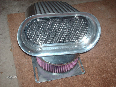 Hilborn Style Air Cleaner Top/Hood Scoop