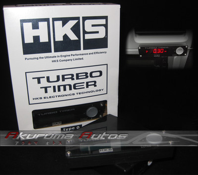 Universal Fit Hks Turbo Timer Type 0 Red Led