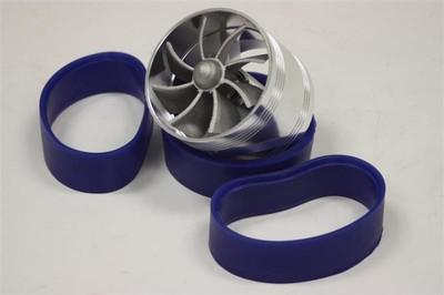"High Quality 2.5"" Single Tornado Turbonator Intake Fan Gas Fuel Saver Fan Turbo"