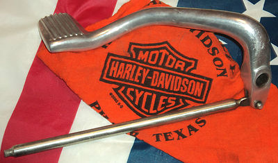 2003 Harley Lowrider Dyna Brake Pedal Take Off