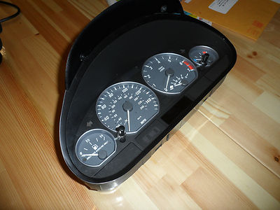 E46 2001 Bmw 330ci Instrument Cluster Manual Transmission