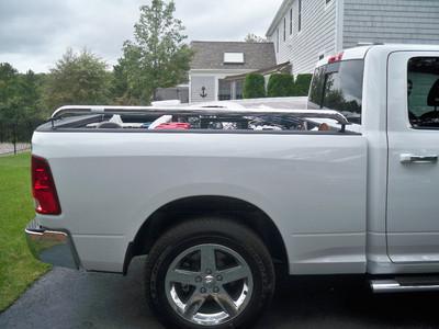 Mopar Chrome Tublar Side Rails Dodge Ram 1500 Slt Quad Cab 6.5 Bed 20102012