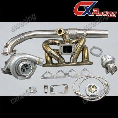Cxracing Civic Integra B18 Ls Gsr Bseries T04e Turbo Kit Ram Thick Manifold Ek