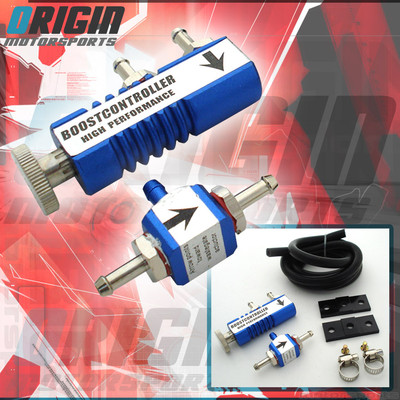Blue Cnc Universal Manual Adjustable Turbo Boost Controller 30psi Fit All Cars