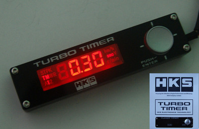 Universal Hks Turbo Timer Type 0 Red Led Digital Display For Wrx Skyline Evo Mr2
