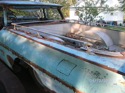 1959 El Camino Bed Rails Original Hot Rod Rat Rod