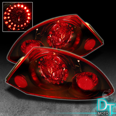 0002 Eclipse Led Tail Running Brake Lights Lamps Leftright