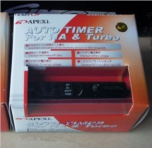 Apexi Turbo Timer Na Turbo Black Control Red Led Pen Size