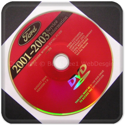 Ford 20012003 Dvd Workshop Service Manual Repair Engine Transmission Electrical