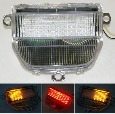 93 94 95 96 97 Honda Cbr 900 Rr Cbr900rr Clear Tail Brake Turn Signals Led Light