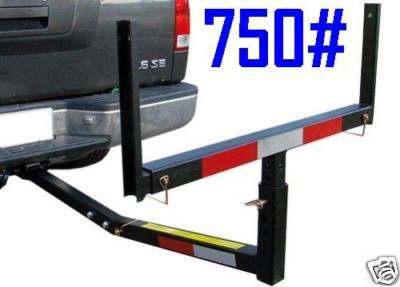 Pickup Truck Bed Steel Hitch Extender Rack Ladder Canoe Boat Lumber Long Loads