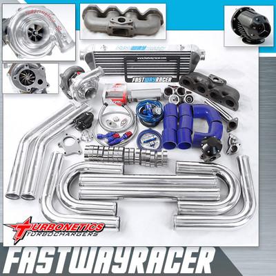 Prelude Vtis Vtec Typesh H22 Dohc T04e T3 T3/T4 Turbo Kit W/ Turbonetics Turbo
