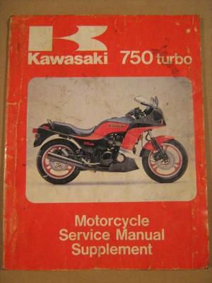 Kawasaki 750 Turbo Service Manual Suplement