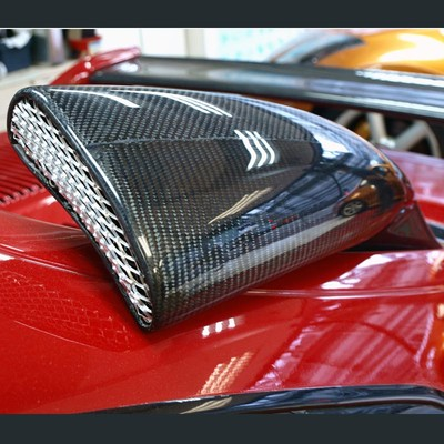 Carbon Fiber Toyota 9196 Mr2 Sw20 Jdm Air Intake Engine Hood Scoop System