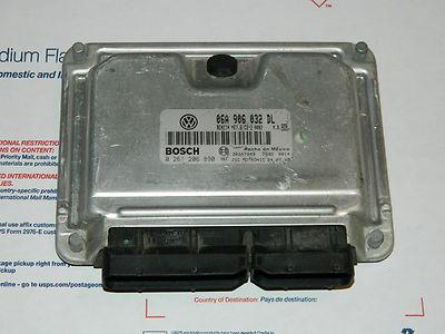 01 Volkswagen Vw Turbo 1.8l Jetta Golf Gti Engine Control Ecm Ecu 06a 906 032 Dl