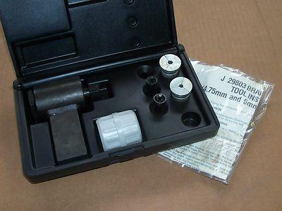 Kent Moore Universal Iso Brake Line Flaring Tool Kit #J29803 Handy