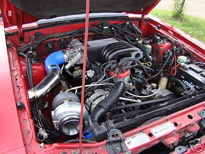 1986 Mustang 5.0 Single Turbo Kit Foxbody System 86