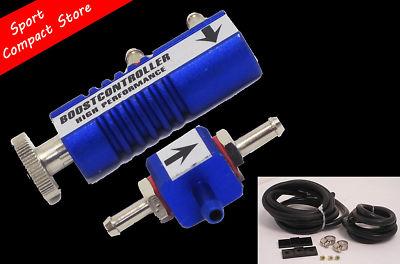 130 Psi Manual Boost Controller Blue | Turbo Bov Fmic Mbc Mazda Honda Nissan T3