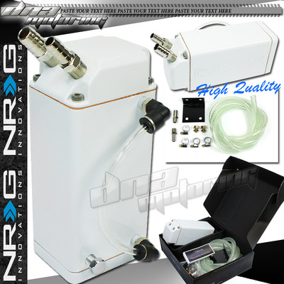 G White Square 750ml Aluminum /Universal Oil Catch Tank/Can Engine/Reservior